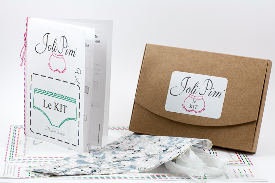 Kit JoliPim' DIY Confectionner une petite culotte pour fillette
