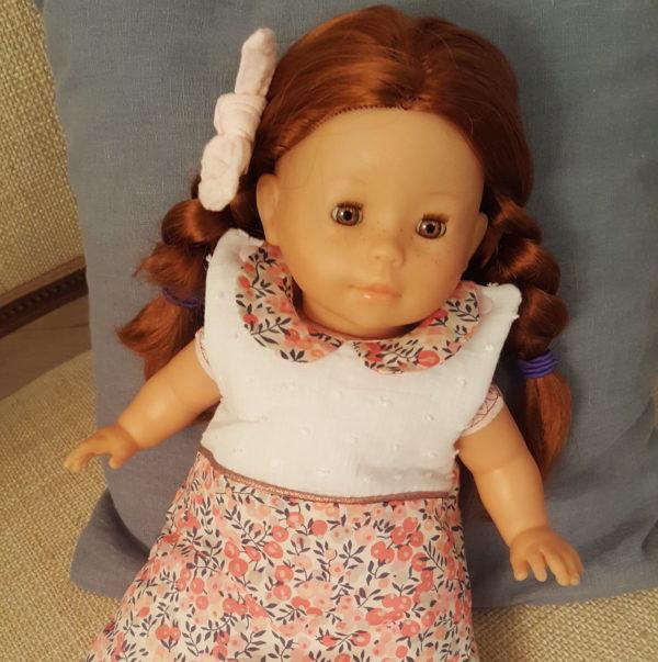gigoteuse pour poupée en Liberty JoliPim'