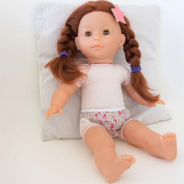 Culotte poupée en Liberty pour poupée Corolle Ma Vanille
