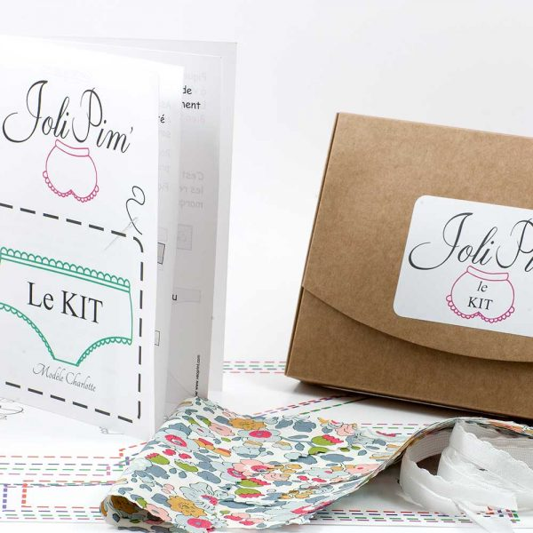 kit culotte à coudre JoliPim' DIY facile