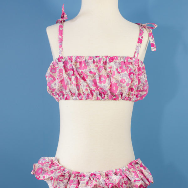 Bikini JoliPim' Liberty Betsy Bougainvillée