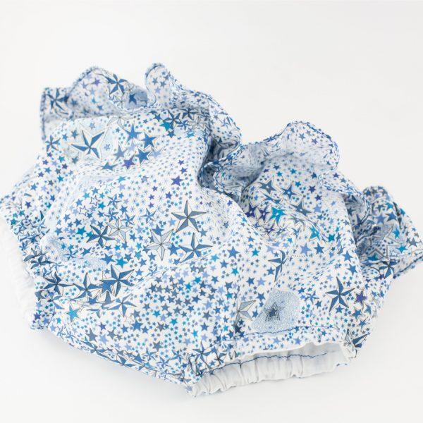 bloomer de bain Adelajda bleu