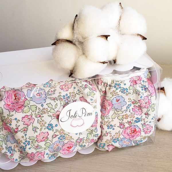 duo mere fille culottes assorties liberty felicité rose