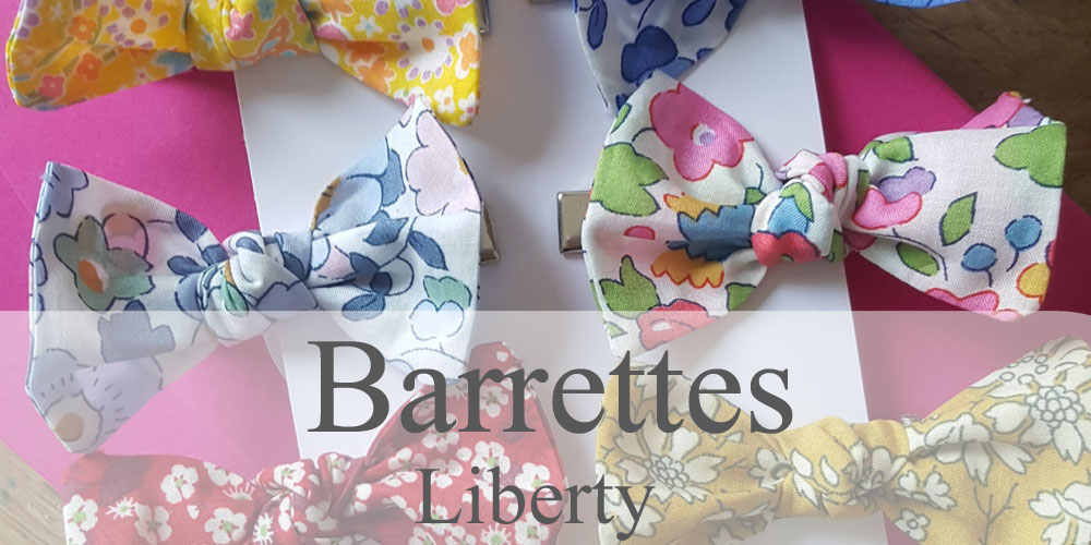 barrettes fille Liberty