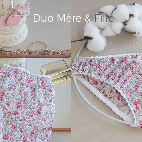 duo mere et fille jolipim culotte liberty eloise rose