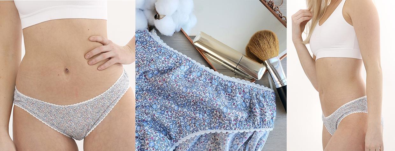 culotte femme Liberty eloise bleu jolipim
