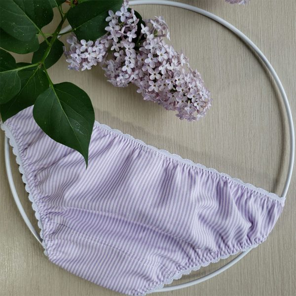 culotte lilas upcyclée