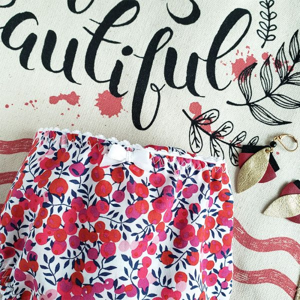 culotte femme liberty wiltshire rouge